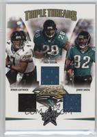 Jimmy Smith, Byron Leftwich, Fred Taylor /150