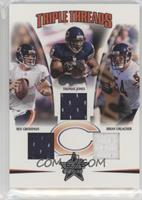 Brian Urlacher, Rex Grossman, Thomas Jones /150