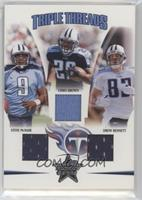 Drew Bennett, Chris Brown, Steve McNair /150