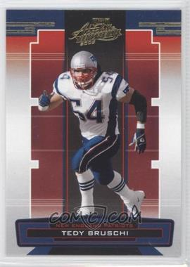 2005 Playoff Absolute Memorabilia - [Base] - Retail #92 - Tedy Bruschi
