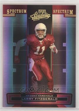 2005 Playoff Absolute Memorabilia - [Base] - Spectrum Gold #4 - Larry Fitzgerald /25