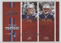 Tom Brady, Corey Dillon /250