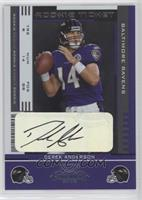 Rookie Ticket - Derek Anderson