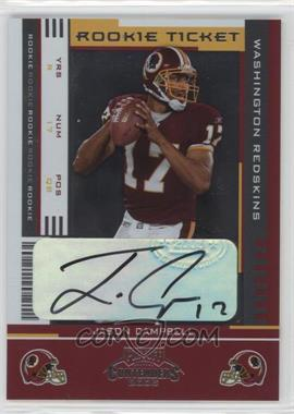 2005 Playoff Contenders - [Base] #144 - Rookie Ticket - Jason Campbell
