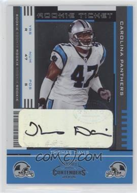 2005 Playoff Contenders - [Base] #177 - Rookie Ticket - Thomas Davis
