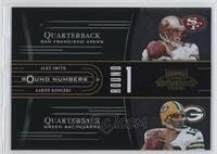 Alex Smith, Aaron Rodgers /1500