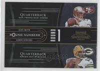 Alex Smith, Aaron Rodgers, Cedric Benson, Mark Clayton /1000