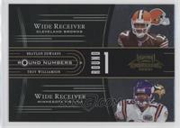 Braylon Edwards, Troy Williamson, Mike Williams, Matt Jones /1000