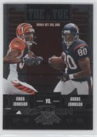 Andre Johnson, Chad Johnson #/450