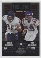 Muhsin Muhammad, Troy Williamson /450
