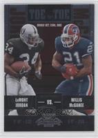 LaMont Jordan, Willis McGahee /450
