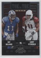 Roy Williams, Larry Fitzgerald #/450