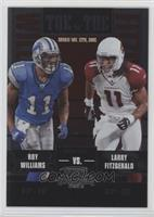 Roy Williams, Larry Fitzgerald /450