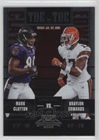 Mark Clayton, Braylon Edwards /450