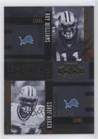 Kevin Jones, Roy Williams #/250