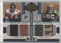 Roddy White, Terrence Murphy #/50