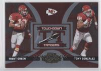 Tony Gonzalez, Trent Green #/250
