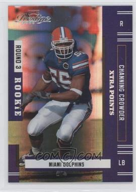 2005 Playoff Prestige - [Base] - Xtra Points Purple #227 - Channing Crowder /100