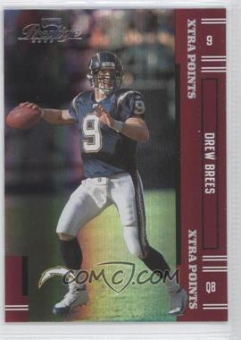 2005 Playoff Prestige - [Base] - Xtra Points Red #113 - Drew Brees /125