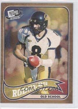2005 Press Pass SE - Old School #OS 17 - Aaron Rodgers