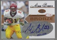 Marion Barber III [Noted] #/500