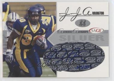 2005 SAGE - Autographs - Silver #A2 - J.J. Arrington /300