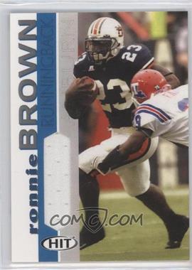 2005 SAGE Hit - Jerseys #RB - Ronnie Brown
