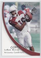 Rookie Authentics - LeRon McCoy #/750