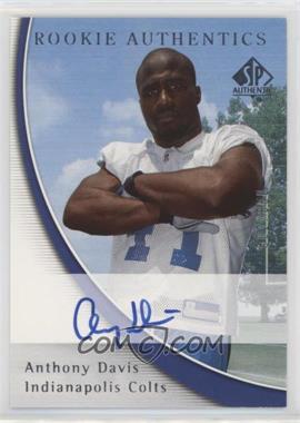 2005 SP Authentic - [Base] #182 - Rookie Authentics - Anthony Davis /850