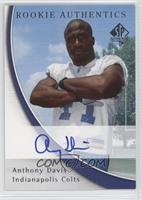 Rookie Authentics - Anthony Davis #/850