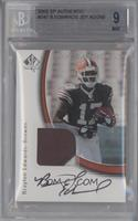 Rookie Authentics - Braylon Edwards [BGS 9 MINT] #/299
