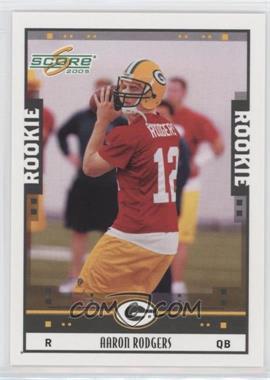 2005 Score - [Base] #352 - Aaron Rodgers