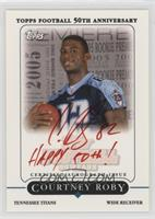 Courtney Roby #/10