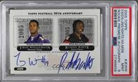 Troy Williamson, Roddy White, Matt Jones, Braylon Edwards [PSA 9 MINT]