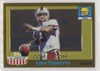 Gino Torretta [EX to NM] #/555