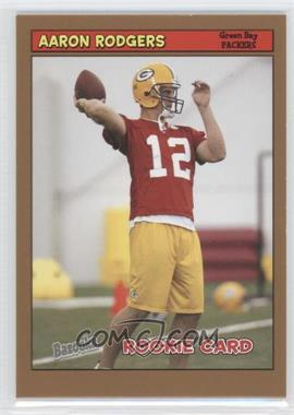 2005 Topps Bazooka - [Base] - Gold #190 - Aaron Rodgers