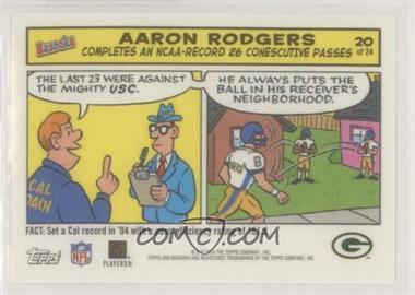2005 Topps Bazooka - Comics #20 - Aaron Rodgers