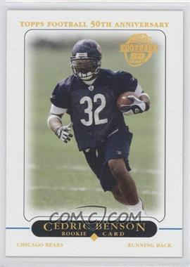2005 Topps Chicago Bears - National Convention [Base] #3 - Cedric Benson