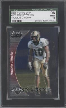 2005 Topps Draft Pick & Prospects - [Base] - Chrome #163 - Roddy White [SGC 96]