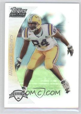 2005 Topps Draft Pick & Prospects - [Base] - Gold Refractor #138 - Marcus Spears /199