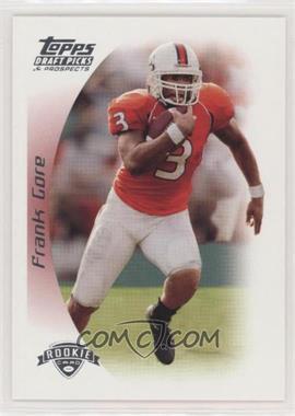 2005 Topps Draft Pick & Prospects - [Base] #159 - Frank Gore