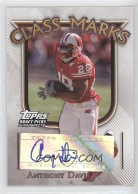 2005 Topps Draft Pick & Prospects - Class Marks #CM-AD - Anthony Davis