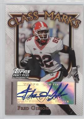 2005 Topps Draft Pick & Prospects - Class Marks #CM-FG - Fred Gibson