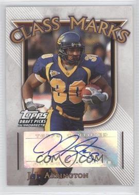 2005 Topps Draft Pick & Prospects - Class Marks #CM-JJA - J.J. Arrington
