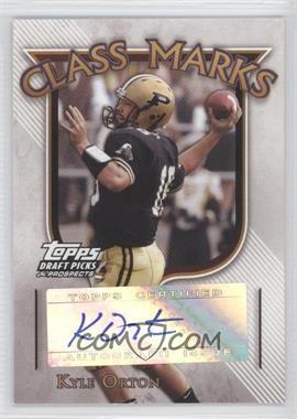 2005 Topps Draft Pick & Prospects - Class Marks #CM-KO - Kyle Orton