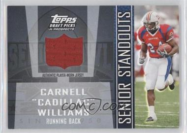 2005 Topps Draft Pick & Prospects - Senior Standouts Relics #SS-CW - Carnell Williams