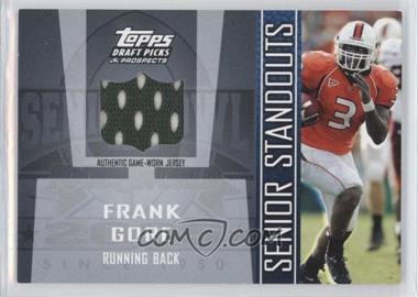 2005 Topps Draft Pick & Prospects - Senior Standouts Relics #SS-FGO - Frank Gore