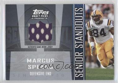 2005 Topps Draft Pick & Prospects - Senior Standouts Relics #SS-MS2 - Marcus Spears