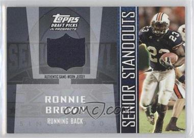 2005 Topps Draft Pick & Prospects - Senior Standouts Relics #SS-RBR - Ronnie Brown