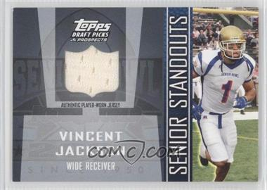 2005 Topps Draft Pick & Prospects - Senior Standouts Relics #SS-VJ - Vincent Jackson